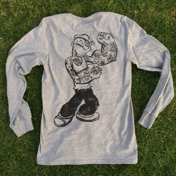 Other - Popeye the Sailor Man Long Sleeve